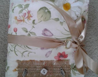 Shabby chic personal journal