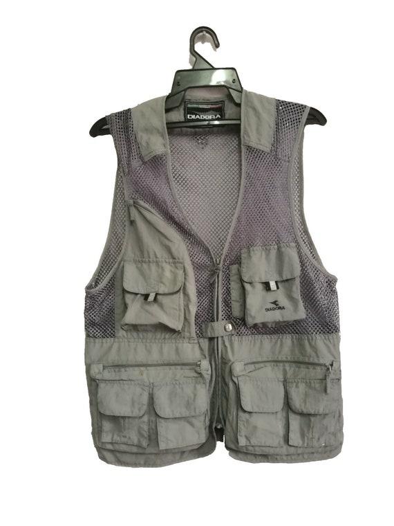 Diadora Multipocket Tactical Cargo Utility Vest 10