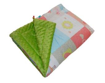 Baby Quilt Blanket 75x100