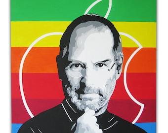 Quadro Steve Jobs