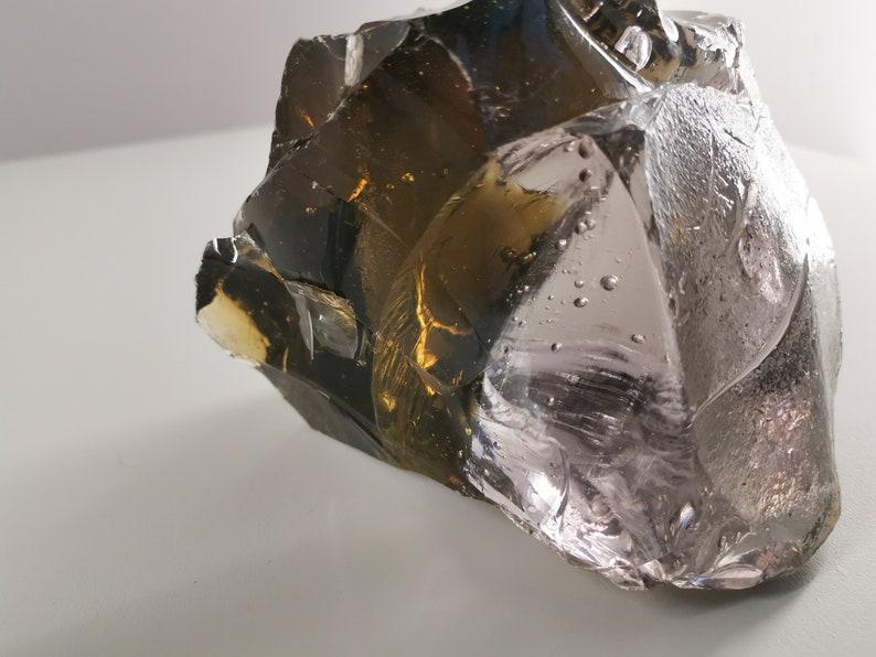 Huge 3 kg two-color smoked rock crystal / Quartz / gem / image 0
