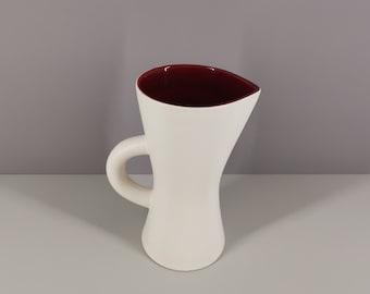 Ceramic pitcher Saint Clément 50s / DLG pol chambost Georges Jouve / collection / French ceramics / Mid-Century / XXth century