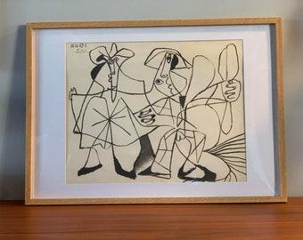 Lithograph Pablo Picasso 15.12.69 / art / 60s / France / artist / Mid-Century / XXth century