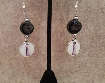 Star Wars Princess Leia Dangle Earrings