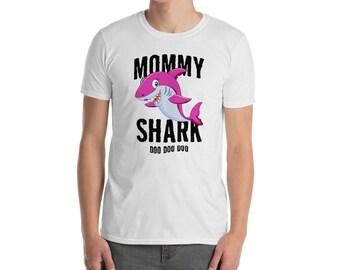 0a7066ae Mommy Shark Unisex T Shirt Mother Grandma Halloween Christmas