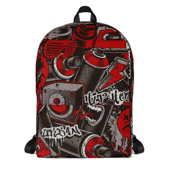 Graffiti Kids Backpack Boys Children Gift