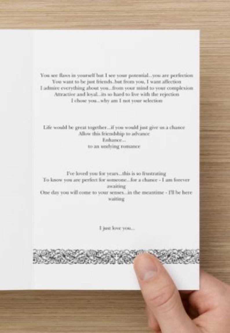 Love Me Card  Crush Card  HeartBreak Card  Soulmate Card