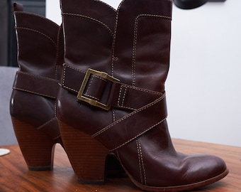 d4cfd46388f Frye booties   Etsy