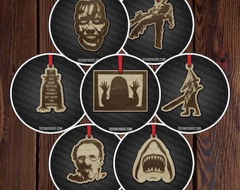 """Horror movie 2"""" ornaments Pack 3"""