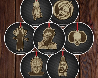 """Horror movie 2"""" ornaments Pack 2"""