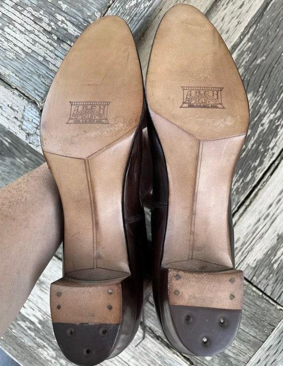 1910s True Antique Edwardian Granny Boots Brown L… - image 3