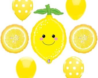 LEMON BALLOONS, Lemonade Bouquet