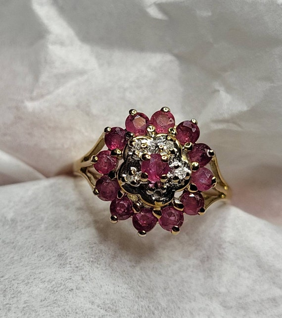 Estate jewelry ruby ring