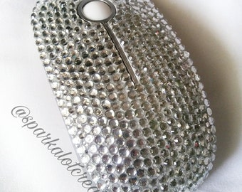 Bling wireless mouse sparkly dazzled