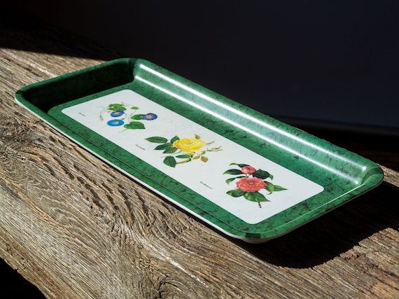 Vintage italian melamine tray delta group design srl tray for Decor italy srl