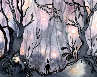 Clearance Rack--Original Watercolor and Ink Illustrations