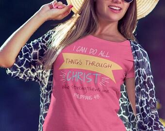 Philippians 4:13 Women T-shirt