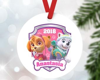 Skye Ornament 2018 Paw Patrol