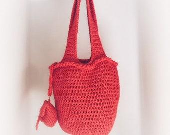 Crochet Shoulder Bag Etsy