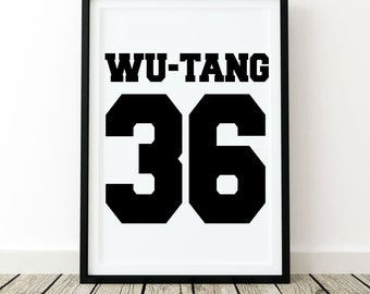 Wu Tang Clan Quote Etsy