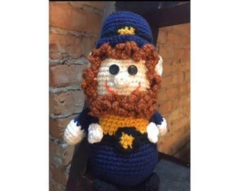 Crochet Irish Mascot