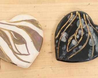 Heart Coasters (Set of 2)