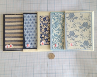 Original silk/cotton fabric hand crafted greetings  cards for any occasion