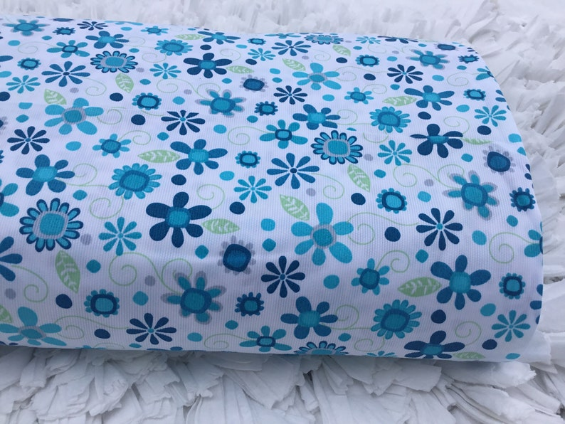 Fabric PolyCotten Dobby Pique By The Yard