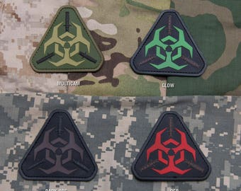 Outbreak Patch PVC