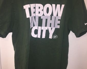 ca355241cd3 NIKE Tim Tebow NY Jets T-Shirt Large