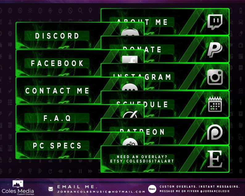 Razer Green - Profile Panel Pack
