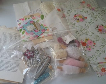 Vintage Junk Journal Kit