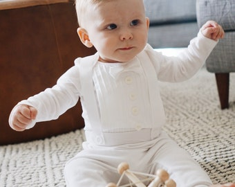 a771a9eed986 Baby Boy Baptism, Christening, Blessing, Wedding Outfit, Tuxedo