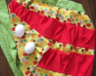 Adult egg apron