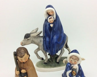 Hummel Goebel Robson ROB Christmas Nativity Figure TMK4 412 413 405/A