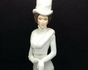 """Renaissance British Porcelain Figurine Louise Retired c1970 11"""" 28cm Collectable"""