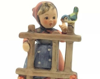 Vintage Hummel Goebel TMK5 FM5 Porcelain Figurine Signs Of Spring 203 2/0