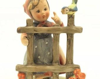 """Vintage Signs Of Spring Hummel Goebel Porcelain Figurine TMK4 FM4 203 4"""" 10cm"""