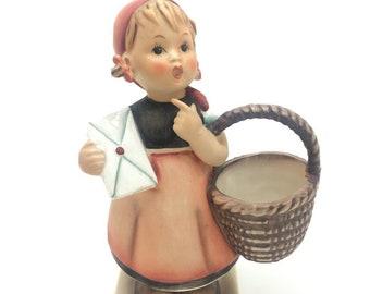 """Hummel Goebel Porcelain Figurine 13 TMK5 Meditation Girl Letter 5.5"""" 14cm AF"""