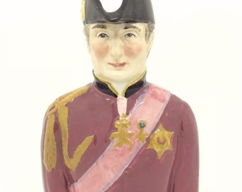 Duke of Wellington Toby Jug Wood and Sons Pride of Britain Collectable Pottery