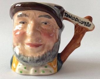 "Vintage Handpainted Lancaster & Sandland Hanley ""To Widdicombe"" Toby Jug"