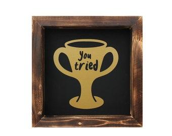 loser trophy etsy