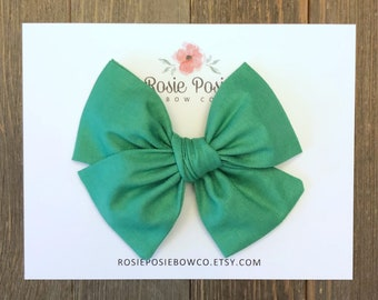 Hunter Green #30 Bows and Stretch Headwraps Simply Inspired By Zoe