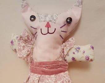 pink cat doll
