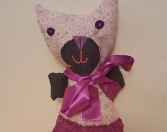 soft fabric cat doll