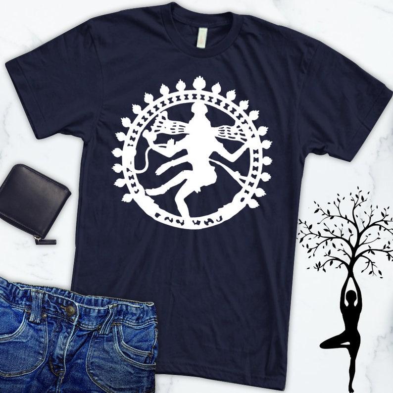 4ae220106a8c7 Lord of the Dance lord Shiva shirt  Nataraja t-shirt  Dance