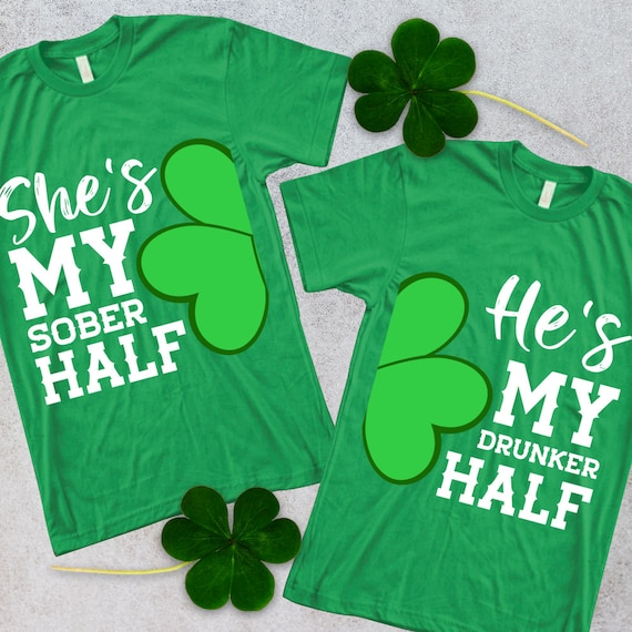 Sober Red Adult T-Shirt St Patricks Day