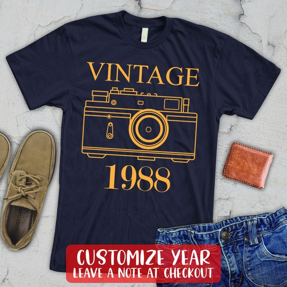 VINTAGE 1988 Shirt 31st Birthday Gift Tank Top Turning 31