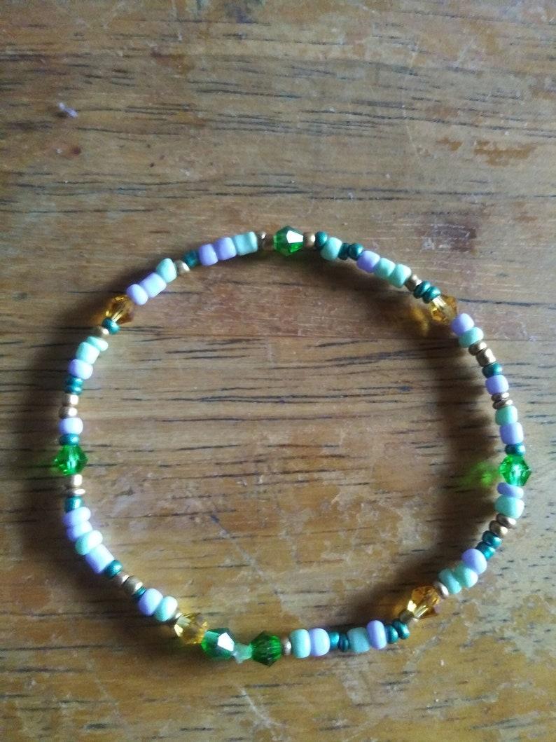 Beaded Stretchy bracelet set of 8