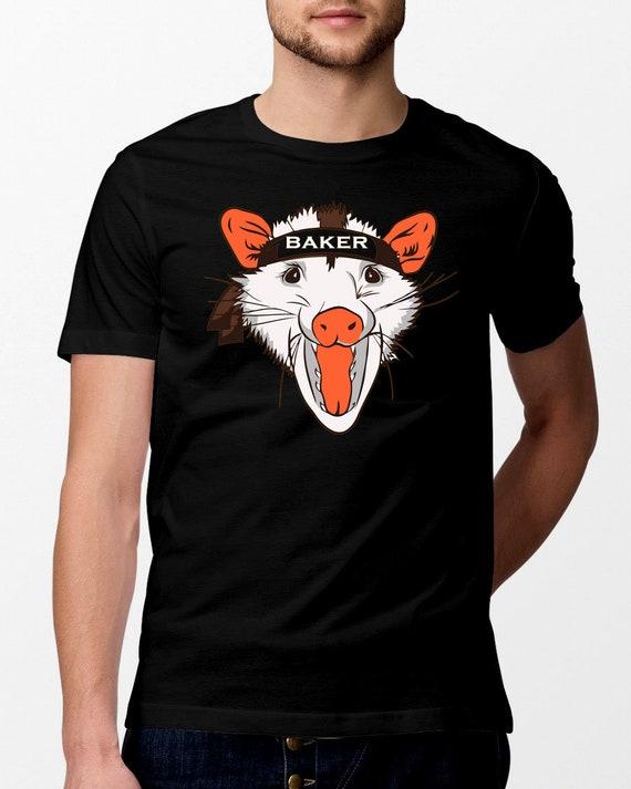 baker browns rally possum fan t shirt cleveland tee  faf105fa8